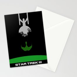 Trek III: The Search for Spock Minimalist Poster Stationery Cards
