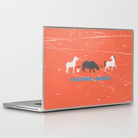 evolution Laptop & iPad Skins featuring Evolution by Tony Vazquez