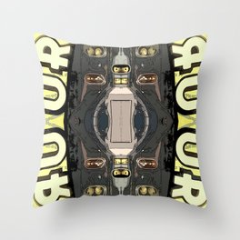 Bender's Discombobulation  Throw Pillow