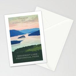 Shuswap Lake Provincial Park Stationery Cards