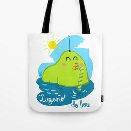 Lugano da bere Tote Bag