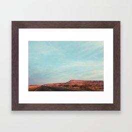 Texas I-10 Framed Art Print