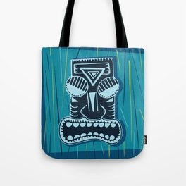 Tiki In Paradise Tote Bag