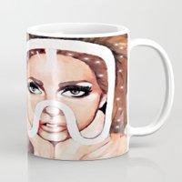 artpop Mugs featuring ARTPOP by Anett Borges