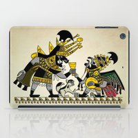 peru iPad Cases featuring Ancient Peru - Sipan by Franco Olivera