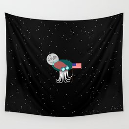 Where No Octopus Has Gone Before Wall Tapestry