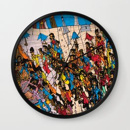Parade Ends Wall Clock