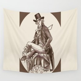 Sherlock through the Ages - 18th Century Wall Tapestry