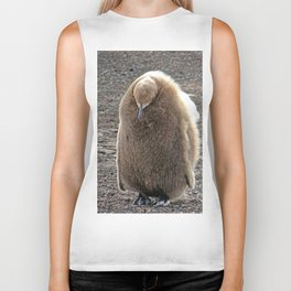 King Penguin Chick Biker Tank