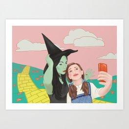 Dorothy Takes a Selfie Art Print