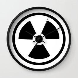 Radioactive Wall Clock