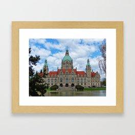 New Town Hall (Hanover) Framed Art Print