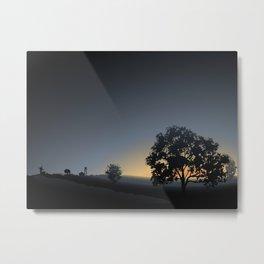 sunrise views Metal Print