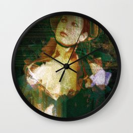 Mind the hour, mind the date, and find that path which does not run straight. Wall Clock