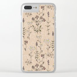 homeland flora Clear iPhone Case