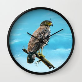 Congo Serpent Eagle Wall Clock