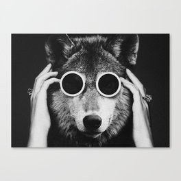 Wolf Glam Canvas Print