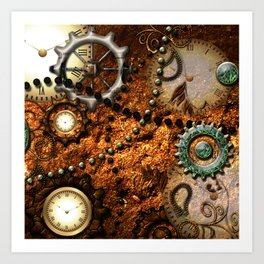 Steampunk i Art Print