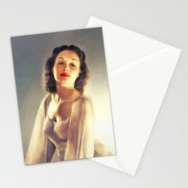 Dorothy Patrick, Vintage Actress Stationery Cards