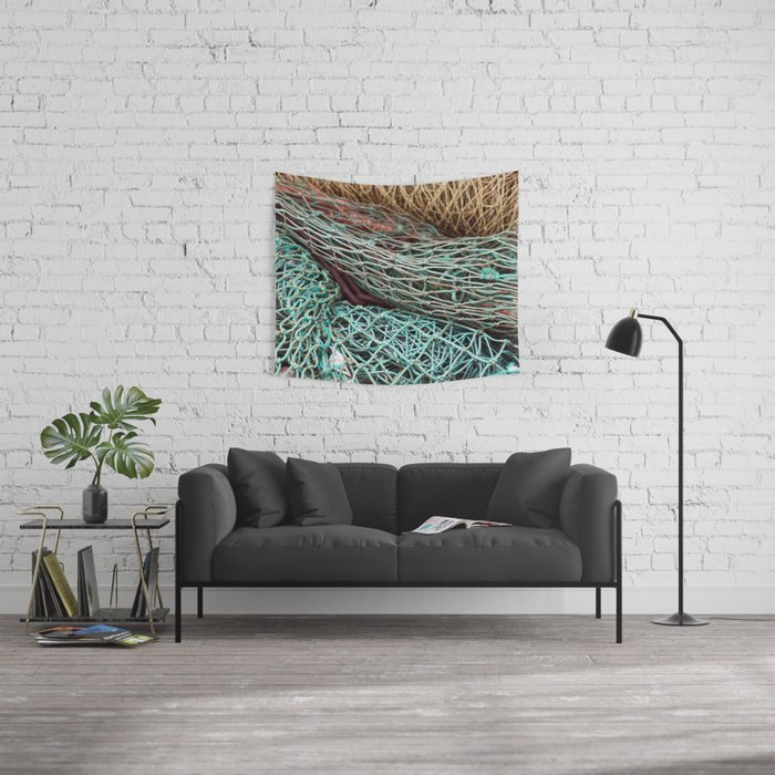FISHING NET Wall Tapestry