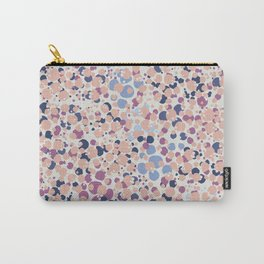 MOTAS - Spots, Dot, Coral, Pink, Blue Dots, Animal Print Carry-All Pouch