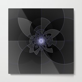 Tron Kaleidoscope Metal Print