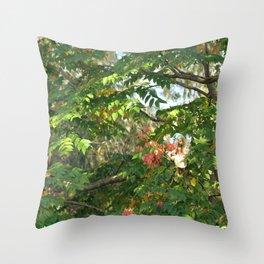 FAIRY Autumn Walk  Throw Pillow