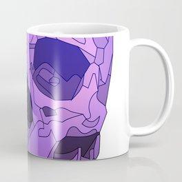 Skull - Violet Coffee Mug