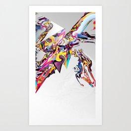 Spiral Static Art Print