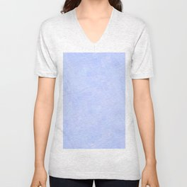 Re-Created Twisted SQ  VII by Robert S. Lee Unisex V-Neck