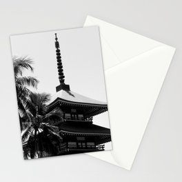 Pagoda Palms Stationery Cards