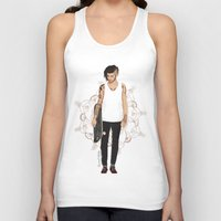 zayn Tank Tops featuring Skater Zayn  by Coconut Wishes