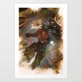 League of Legends EZREAL Pulsefire Art Print