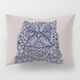 Mandala of Persian Cat Pillow Sham