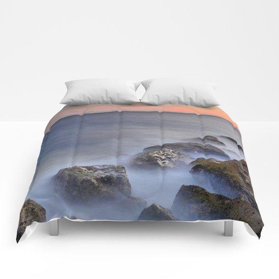 """The struggle of the sea"" Comforters"
