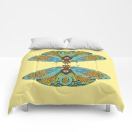 butterfly (ORIGINAL SOLD). Comforters
