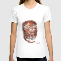 mike wrobel T-shirts featuring Mike Brown  by Tazmatic