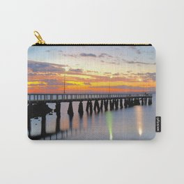 Wellington Point Jetty Sunrise Carry-All Pouch