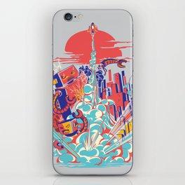 Smash! Zap!! Zooom!! - Generic Spacecraft iPhone Skin
