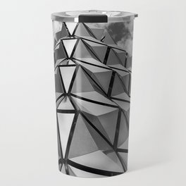 The Architectural Cladding from Leeds University Car Park Travel Mug