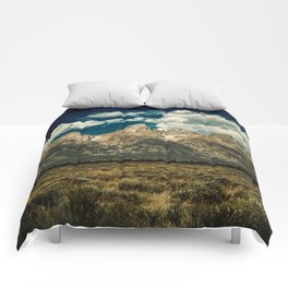 Mountain Summer Escape Comforters