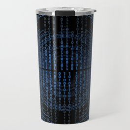 Binary Code Travel Mug