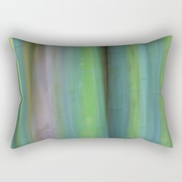 Bamboo Abstract Rectangular Pillow