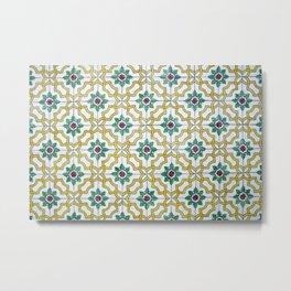 Portuguese Tiles 3 Metal Print