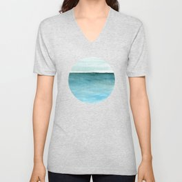 Calm sea 1985 Unisex V-Neck