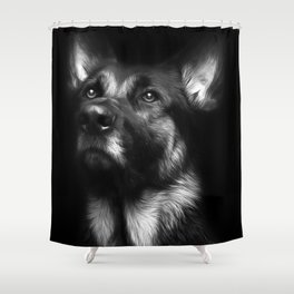 Regal Gentleman Shower Curtain