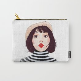 French woman Carry-All Pouch