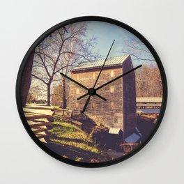 Rock Mill 4 Wall Clock