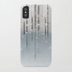 First Snow iPhone X Slim Case
