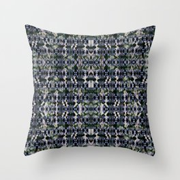 Punk Rock On A Mission Throw Pillow